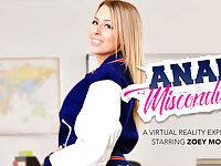 Anal Misconduct featuring Zoey Monroe - NaughtyAmericaVR