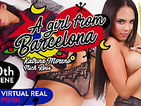 Katrina Moreno  Nick Ross in A girl from Barcelona - VirtualRealPorn