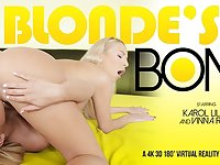 Karol Lilien  Vinna Reed in Blonde's Bond - VRBangers