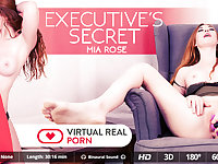 Mia Rose in Executive's secret - VirtualRealPorn