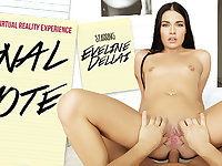 Eveline Dellai in Anal Note - VRBangers