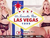 Nick Ross  Samantha Rone in Las Vegas 1999 - VirtualRealPorn