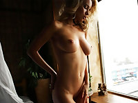 Flawless Blonde Does Sexy Striptease