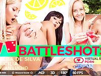Alba de Silva  Juan Lucho  Sicilia in Battleshots - VirtualRealPorn